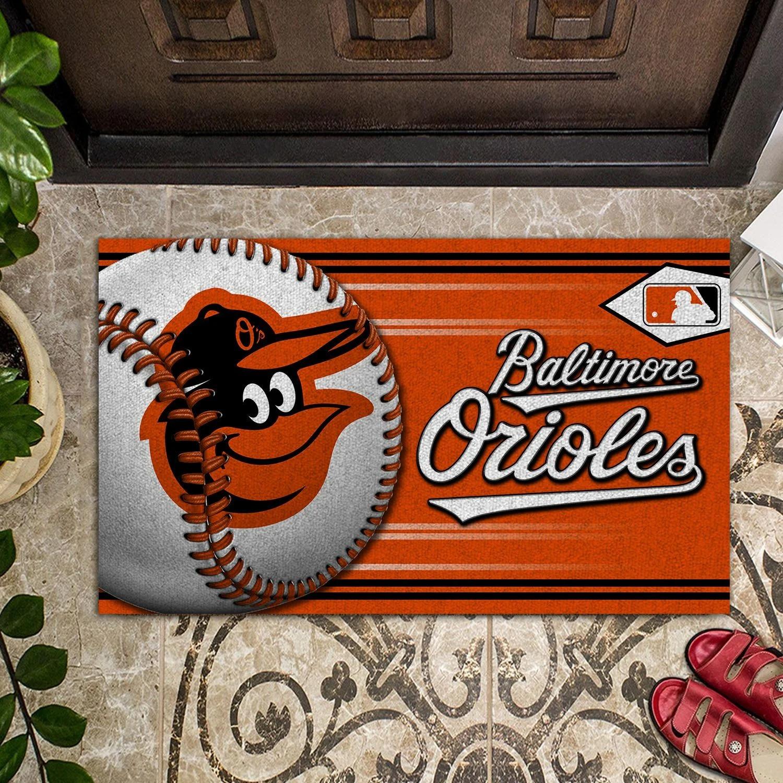 Baltimore Orioles Baseball Doormat