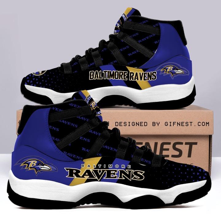 Baltimore Ravens Air Jordan 11 sneaker shoes 1