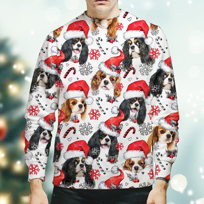 Christmas Xmas Cavalier King Charles Spaniel Sweatshirt