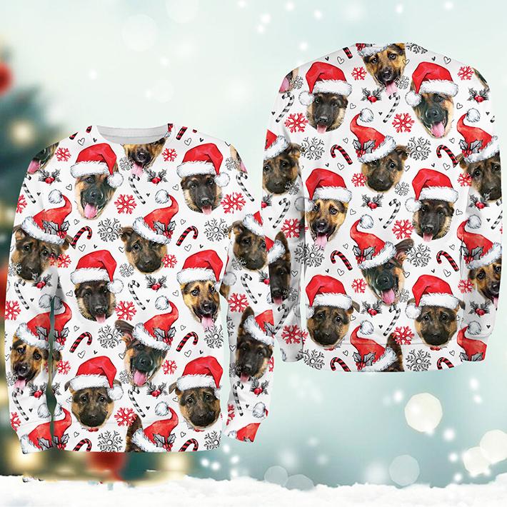 Christmas Xmas German Shepherd Sweatshirt2