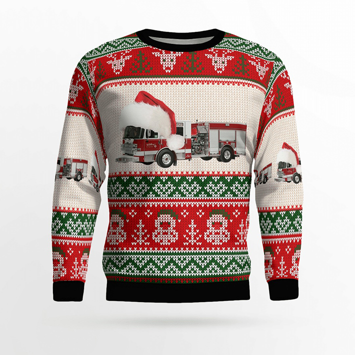 El Paso Fire Department Ugly Christmas Sweater1
