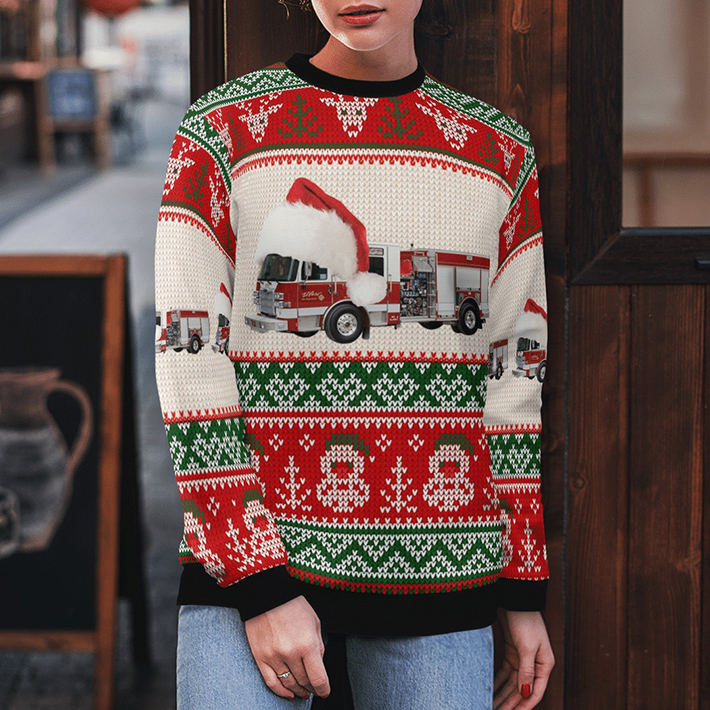 El Paso Fire Department Ugly Christmas Sweater4