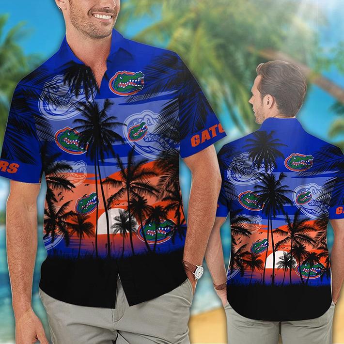 Florida Gators Tropical Hawaiian Shirt Short