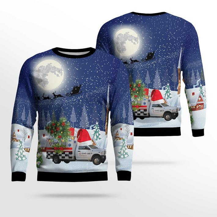 Georgia Grady EMS Ugly Christmas Sweater