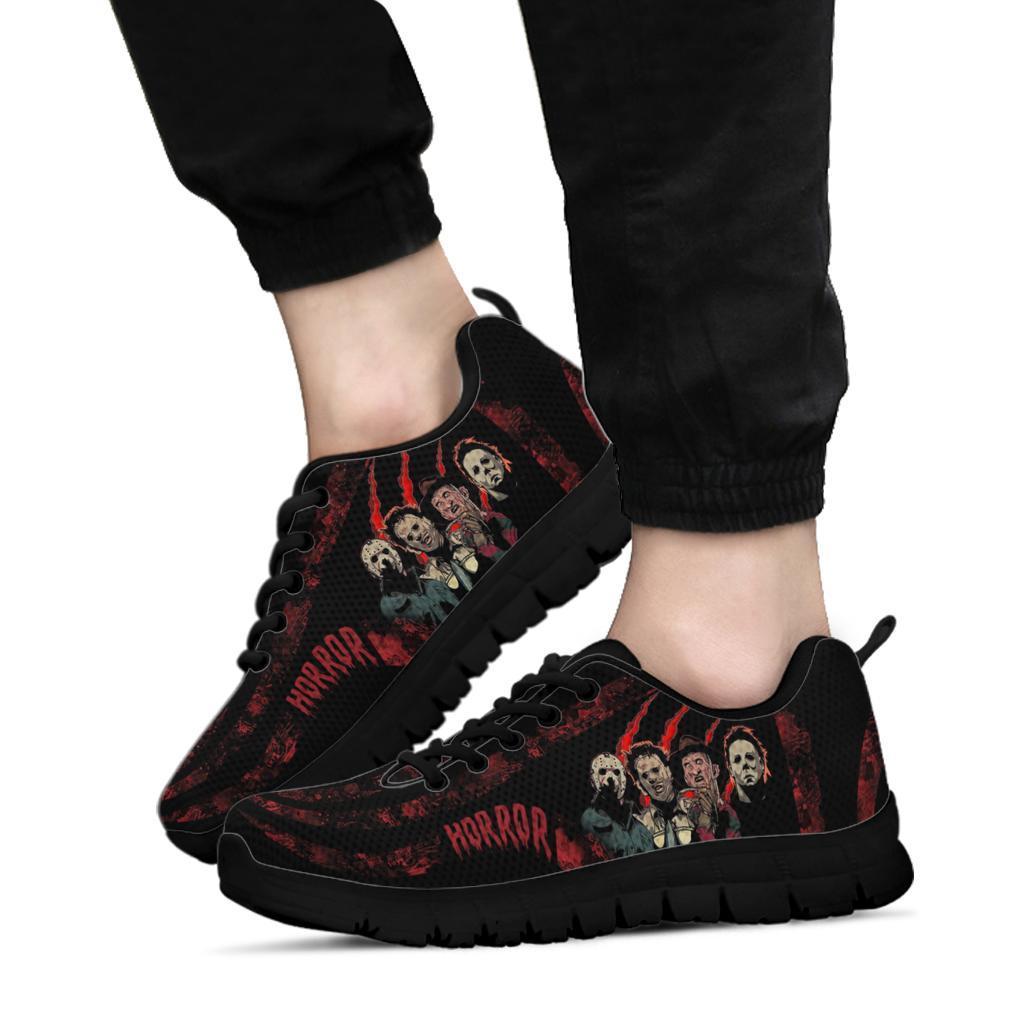 Horror Halloween Squad Sneakers1
