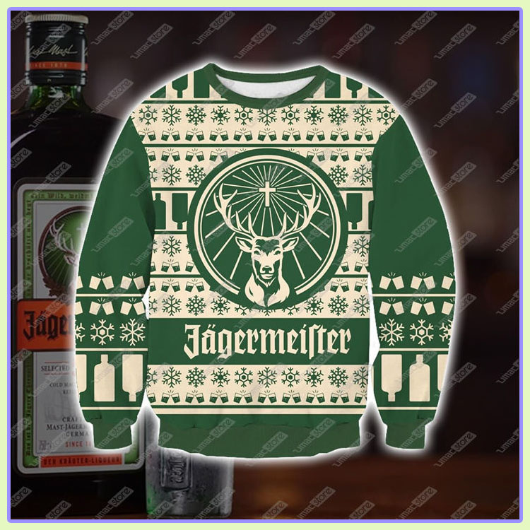 Jagermeifter Ugly Christmas Sweater1