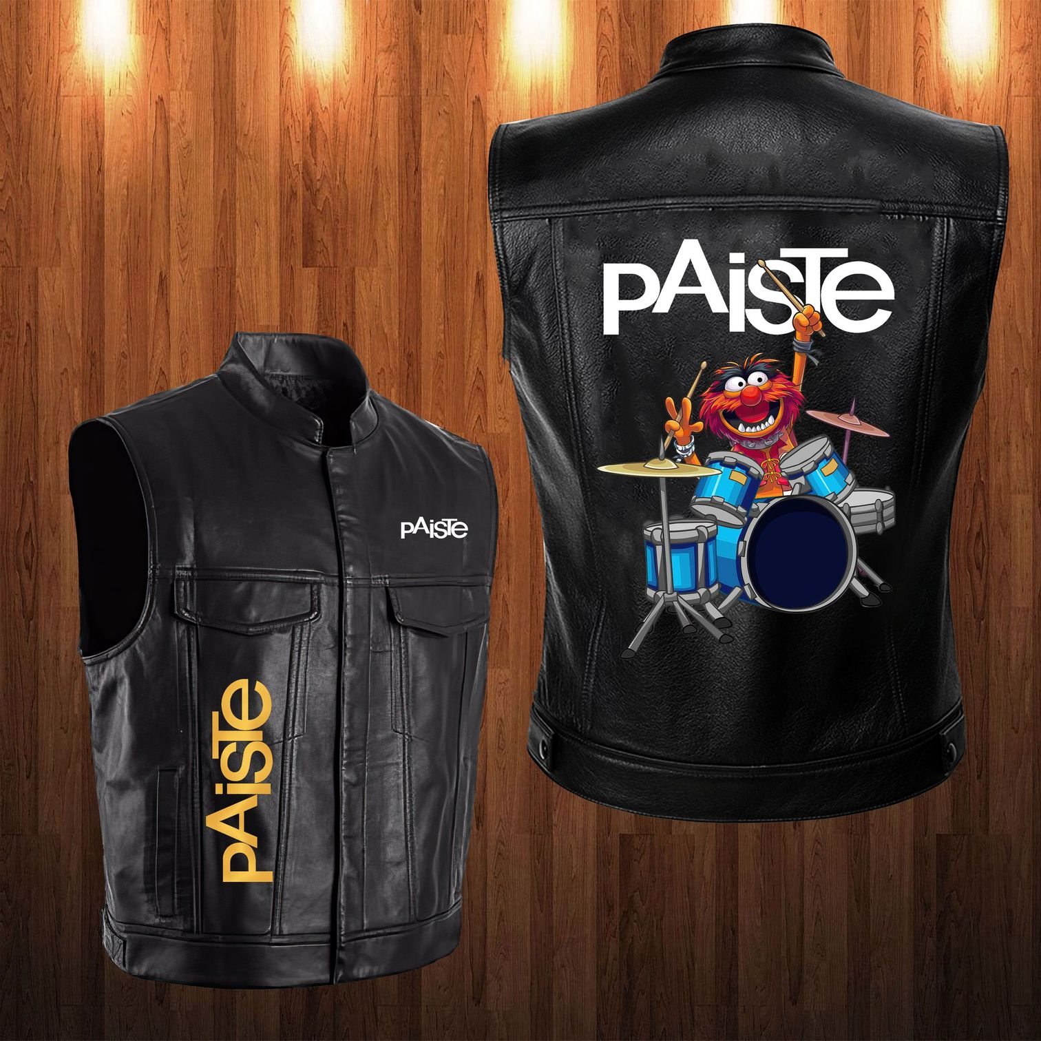 Paiste Animal The Muppet Leather Vest 1