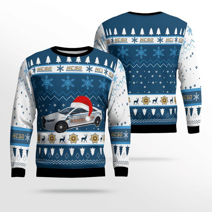 Texas Harris County Sheriff Ugly Christmas Sweater