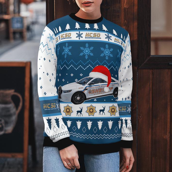 Texas Harris County Sheriff Ugly Christmas Sweater4